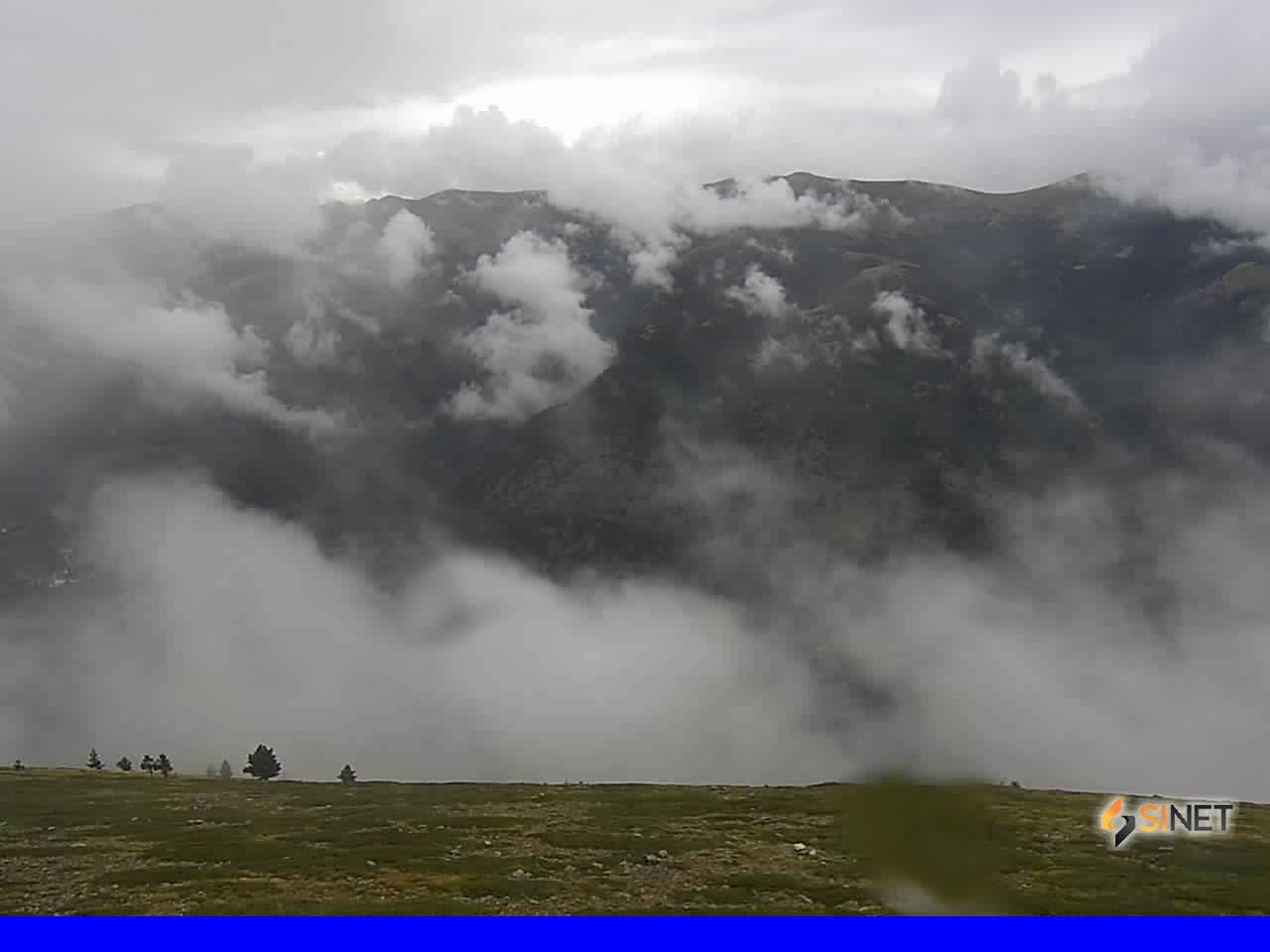 Il Lago di Scanno dal Monte Genzana